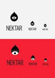 krispy krush, Nektar, logo