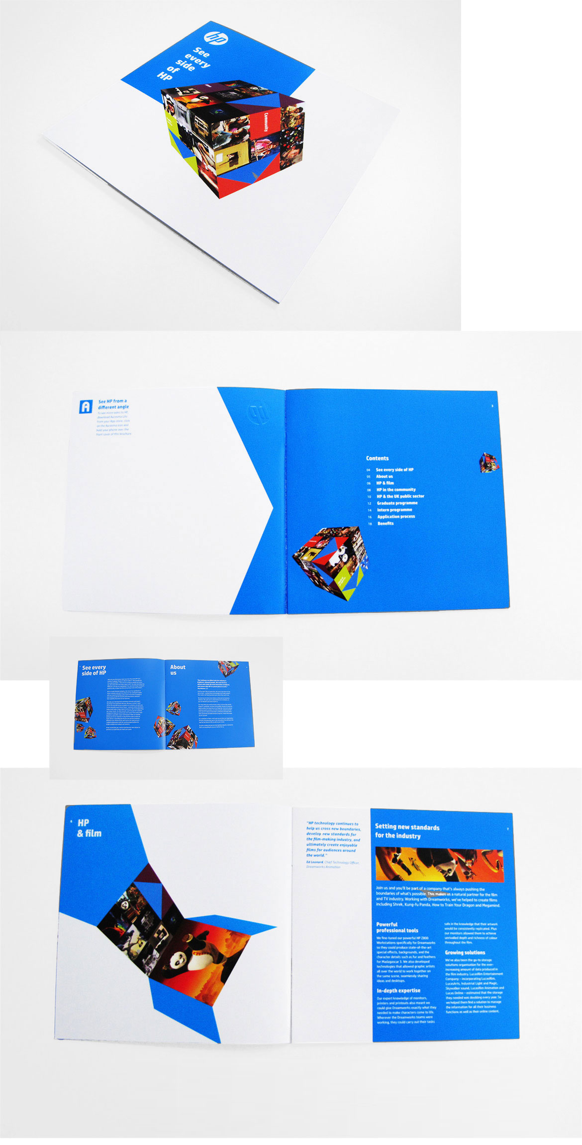 krispy krush, HP, Hewlett Packard, brochure