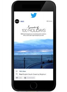 krispy krush, M&S, Summer of 100 Holidays, competition on twitter