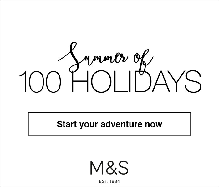 krispy krush, M&S, Summer of 100 holidays, banner