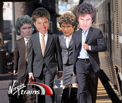 krispy krush, Virgin Trains, Arrive Awesome, business banner