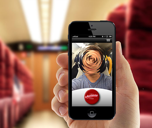krispy krush, Virgin Trains, Arrive Awesome, App