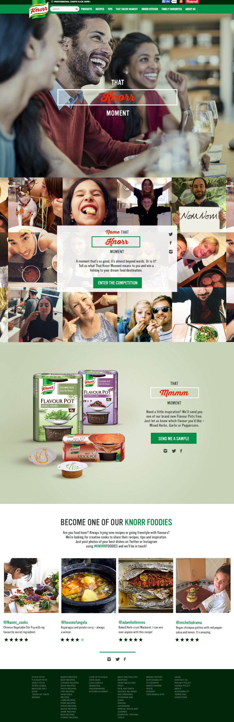 krispy krush, Knorr, That Knorr Moment, Beginning of the year
